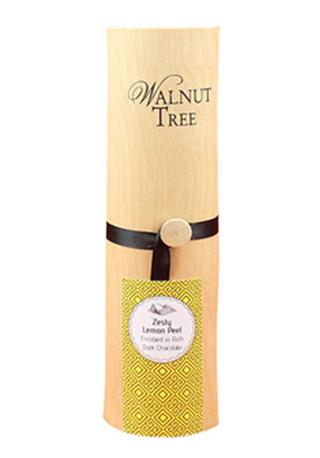 Walnut Tree Lemon Peel Enrobed in Dark Chocolate