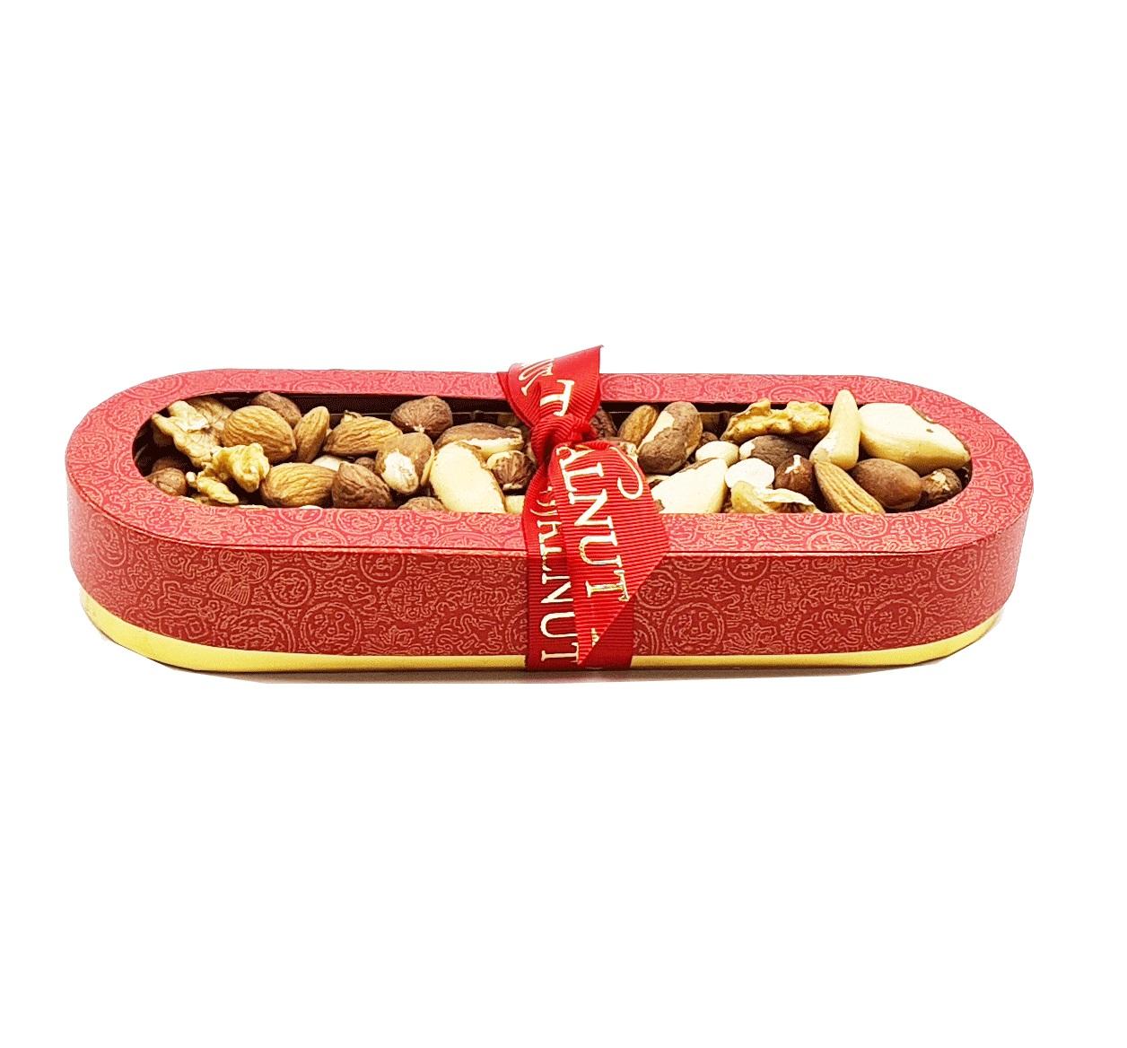 Walnut Tree Small Natural Nut Boat