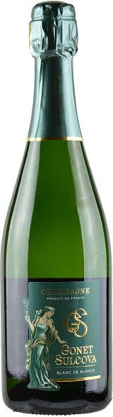 Gonet-Sulcova Blanc de Blancs Brut Champagne