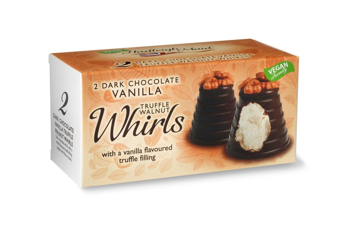 Hadleigh Maid's Dark Chocolate Walnut & Mallow Whirls