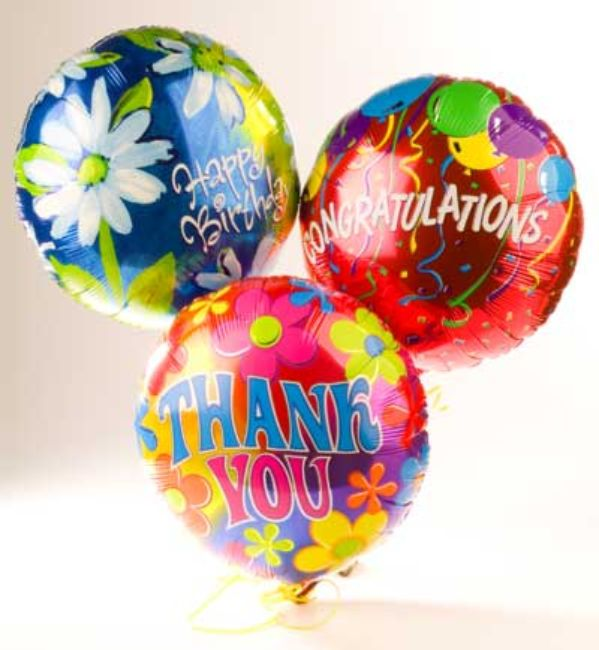 Helium Balloons for All Occasions