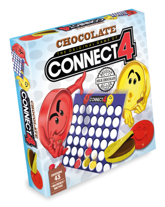 Connect 4 Chocolate Set