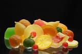 Spanish Glacé Fruit Basket