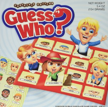 Chocolate Guess Who? Board Game