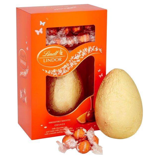 Lindt Lindor Orange Easter Egg