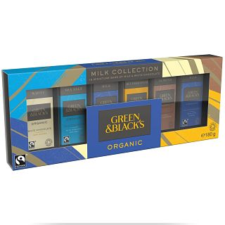 Green & Black's Organic Milk and White Chocolate Collection