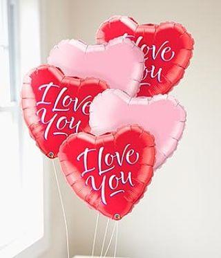 Valentine's Helium Balloon