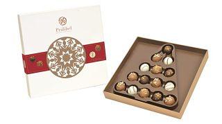 Pralibel Christmas Truffle Gift Box