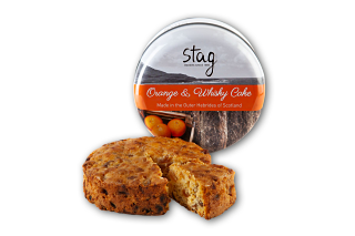 Stag Bakeries Orange and Whiskey Cake