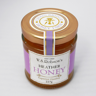 W.S. Robson's Heather Honey 227g
