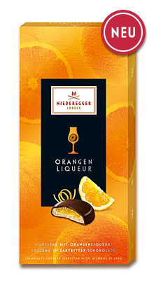 Niederegger Orange Liqueur Marzipan Pralines