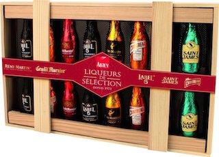 Abtey Chocolate Liqueur Bottles Wooden Gift Box