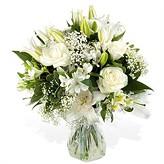Blizzard White Hand-tied Bouquet