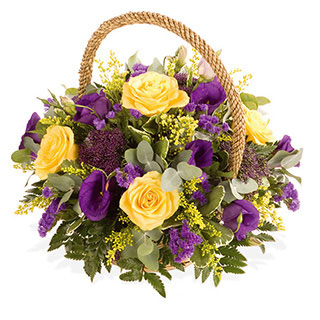 Sunny Boy Basket Arrangement