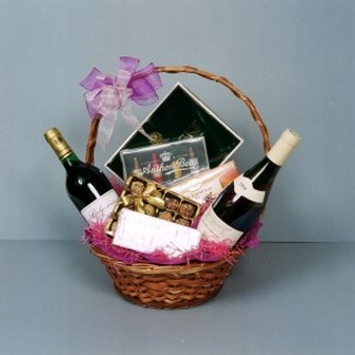 Chocolate and Wine Hamper