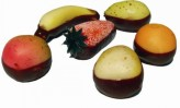 Chocolate Dipped Marzipan Fruits Gift Box (Various Sizes)