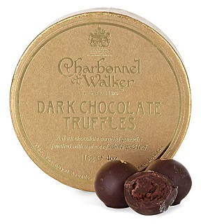 Charbonnel et Walker Dark Chocolate Truffles
