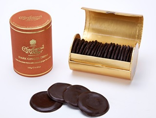 Charbonnel et Walker Dark Chocolate Ginger Thins