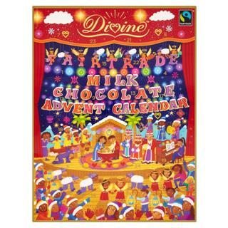 Divine Fairtrade Milk Chocolate Advent Calendar