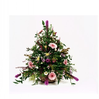 Pink Sensation Basket Arrangement