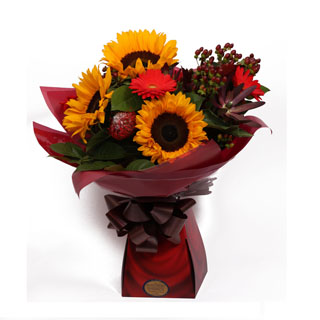 Sunset Flower Arrangement
