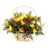 Sunshine Basket Arrangement