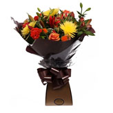 Flame Frenzy Flower Arrangement