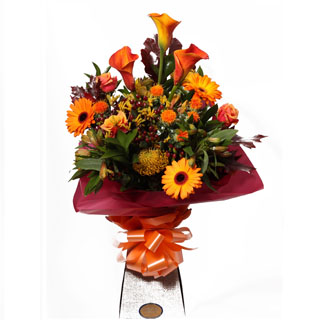 Mango Delight Hand-tied Arrangement