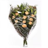Peach Delight Open Style Bouquet