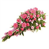 Pink Flower Casket Arrangement