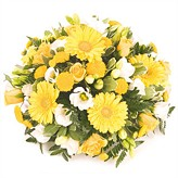 Yellow Posy Floral Arrangement