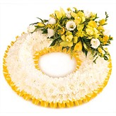 Funeral Arrangement as A Massed Wreath