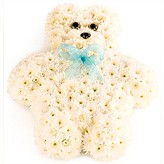 Funeral Arrangement of A Floral Teddy