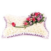 Funeral Tribute Designed As A  Pillow