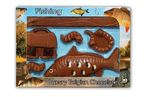 Chocolate Fishing Set