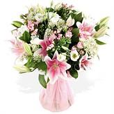 Pink Oriental Hand-tied Bouquet