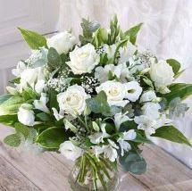 Christmas Winter Whites Bouquet