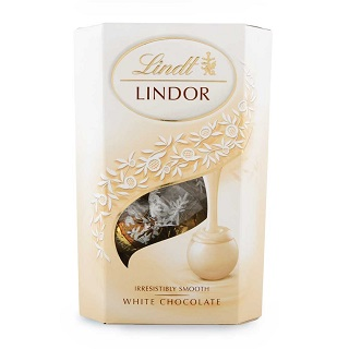 Lindt White Chocolate Lindor