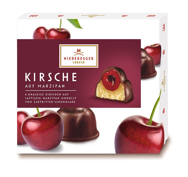 Niederegger Marzipan Cherry Pralines