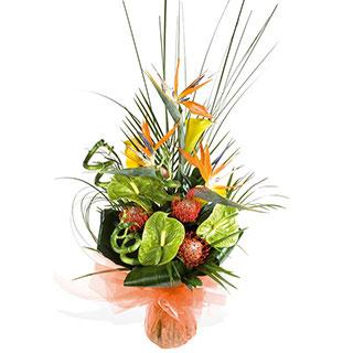 Exotic Tropical Flower Arrangement