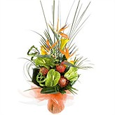 Exotic Tropical Flower Arrangement