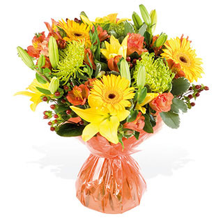 Sun Kissed Hand-Tied Bouquet
