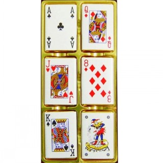 Twelve Playing Card Napolitans