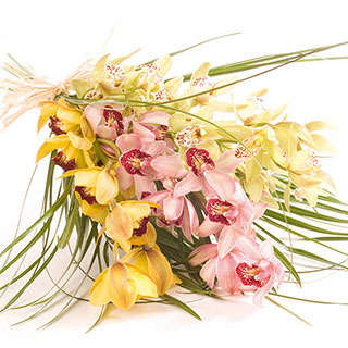 Orchid Delight Exotic  Hand-tied Bouquet