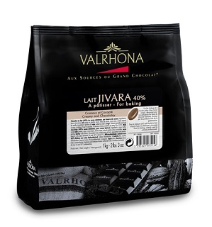 Valrhona Lait Jivara 40% Chocolate Kilo Bag