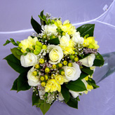 Rose & Freesia Brides Bouquet