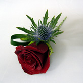 Passion Rose Buttonhole and Corsages