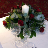Passion Floral Table Arrangement