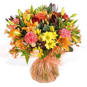 Blaze Hand-tied Arrangement