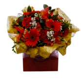 Sumptuous Bag of Christmas Flowers